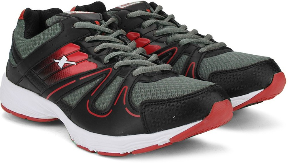 Sparx SX9005G Men Running Shoes Black Grey Red