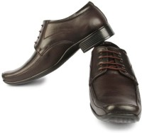 Fortune Fl-26-Brown Lace Up Shoes