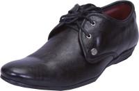 Shoebook Black Formal Derby Lace Up Shoes