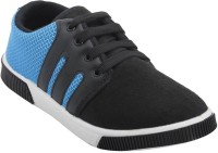 STYLIVO BLUE STRIPES Canvas Shoes Blue