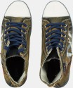 Zovi Gold High Ankle Sneakers
