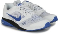 Nike TRI FUSION RUN MSL Men Running Shoes Black, Blue, White