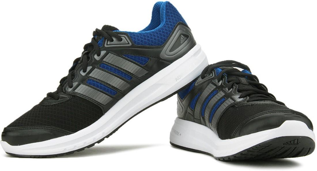 Adidas Duramo 6 M Running Shoes - Buy Black, Blue Color ...