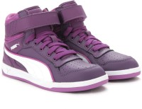 Puma Puma Liza Mid Jr Casual Shoe Purple