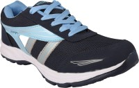 Muxyn Navy And Sky Blue Sports Shoes