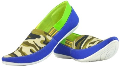 Alpha Man Neon-Style Marines Deluxe Dual Tone Casuals Shoes