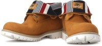 Timberland Roll Top Fabric/Fabric Boots: Shoe