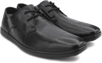 Clarks Orwin Lace Black Leather Lace Up
