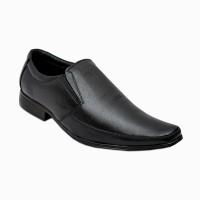 Cooper England Men's Classic Black Formal Slip On Shoes