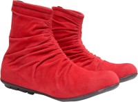 Femine Boots Red