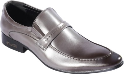 Pinellii Cursa Blue Italian Hand Crafted Slip On Shoes
