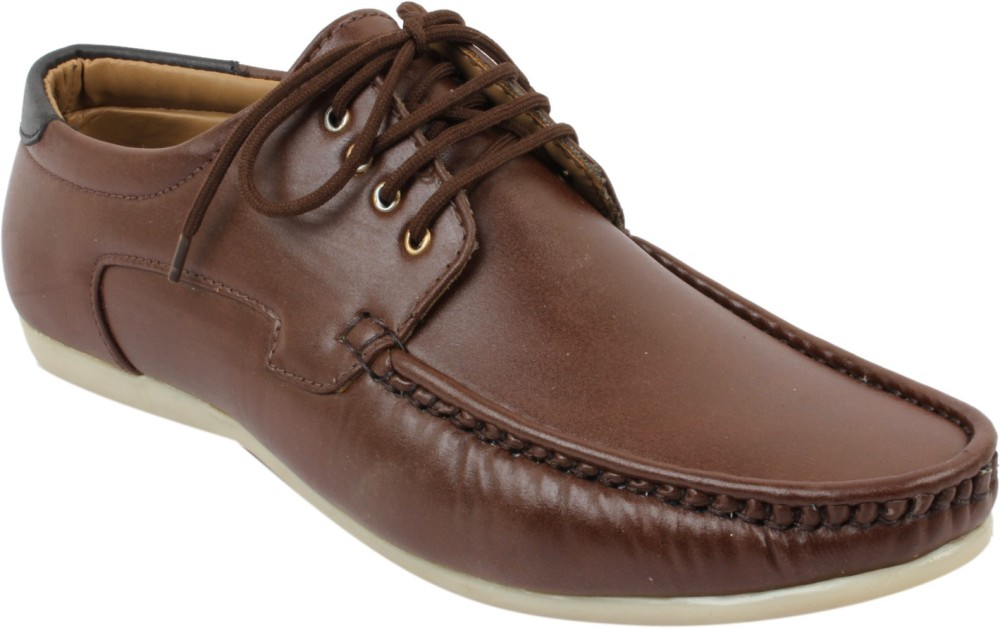 Gato Chocolate Brown Casual Shoes