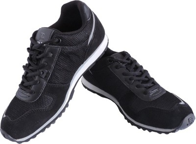 United Colors of Benetton Black Attractive Running Shoes