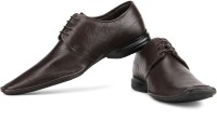 Franco Leone Genuine Leather Lace Up Shoes