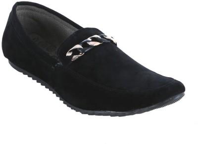 Alligators Black Lace Up Shoes