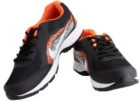 Elligator ELSH1440_Blk-Org Running Shoes, Walking Shoes