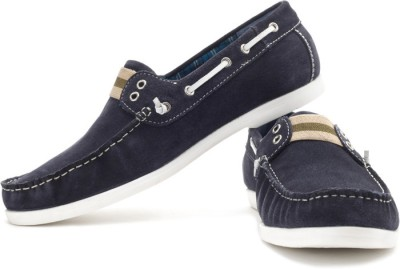Famozi Famozi Boat Shoes (Blue)