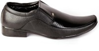 Shoes N Style Black Formal Slip On Shoes