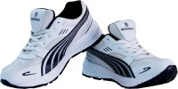 Beerock Alpha Running Shoes, Walking Shoes, Cricket Shoes, Training & Gym Shoes White, Black