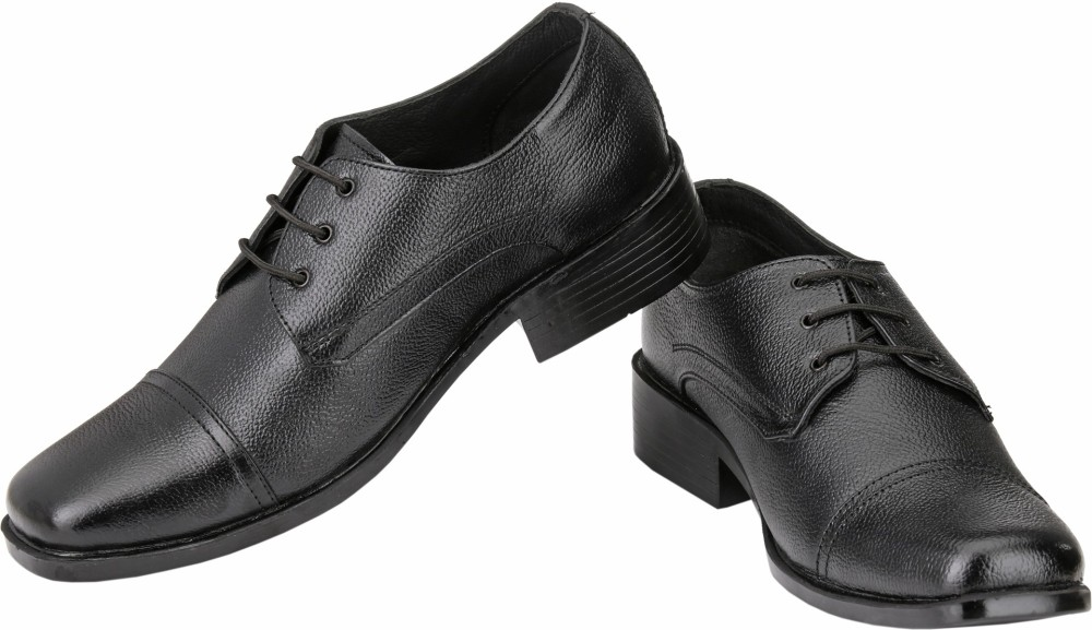 RJ Leather Rainer Lace Up Shoes