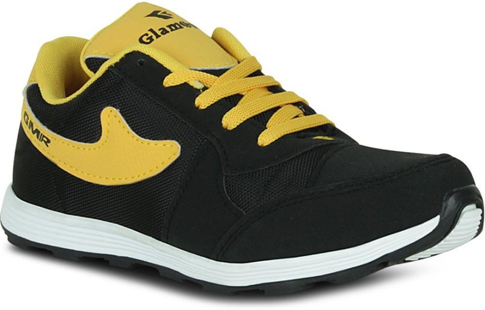 Fab Fashion Atkinson Black Sporty Training Gym Shoes