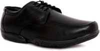 IShoes Refined Black Lace Up Shoes