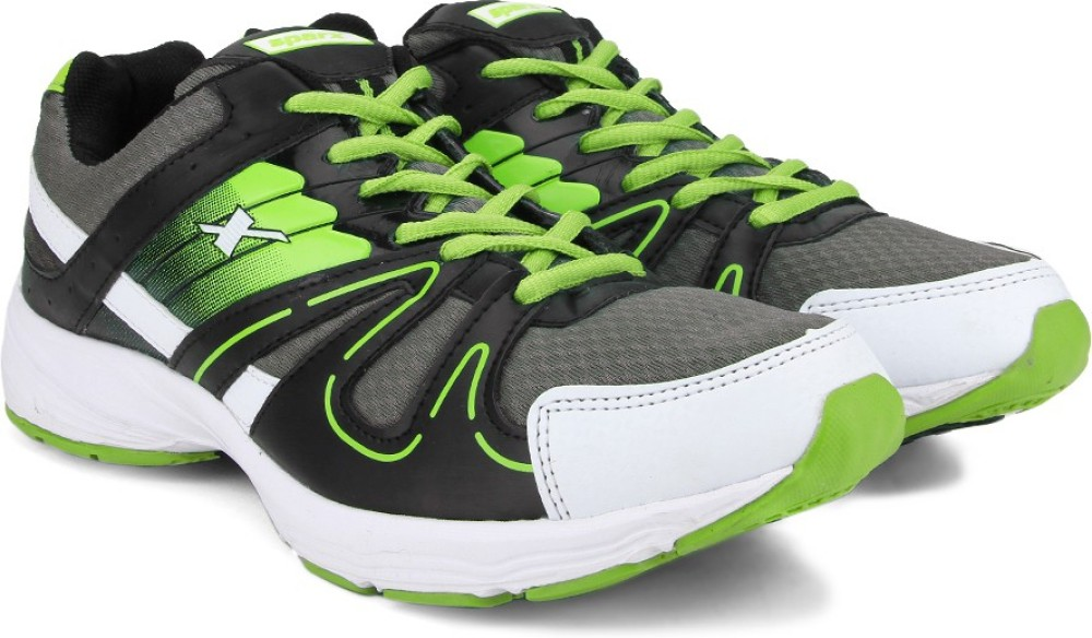 Sparx SX9005G Men Running Shoes Black Green Grey