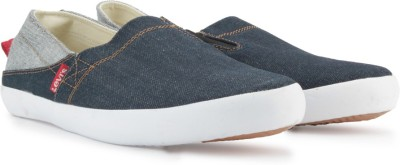 Levi's Cotton Twill_Sunset Series_Slip on Loafers low price