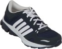 Zovi Navy Blue Sports With White Stripes Running Shoes