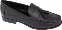 Pinellii Blumberg Slip On Black (Italian Hand Crafted) Slip On Shoes