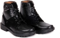 Do Bhai Kd-agr-boot-black Boots Boots