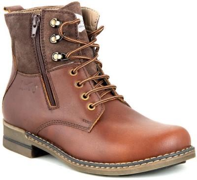 Lee Fog Nazi Brown Boots