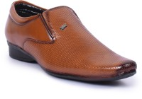 Foot N Style Slip On Shoes Tan