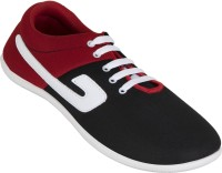 Zovi Black And Red Sneakers