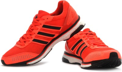Adidas Adidas Adizero Adios Boost 2 M Running Shoes (Orange)