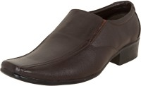 Zovi Brown With Red Accents Slip On Shoes