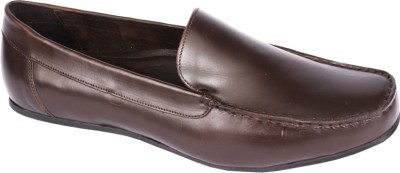 Pinellii Beckam Slip on Brown (Italian Hand Crafted) Slip On Shoes