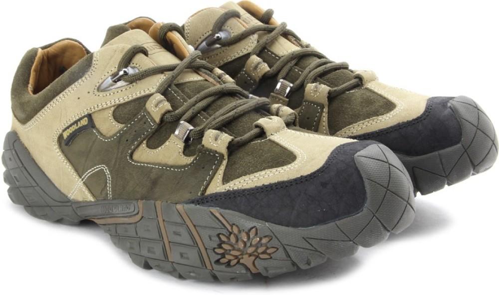 Woodland Men Outdoor Shoes Multicolor