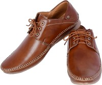Shoebook Shoebook Casual Derby Brown Lace UP Party Wear