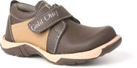 Snappy Gold Chief For Boys Party Wear Shoes