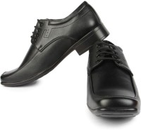 Fortune Jp-9704n-Black Lace Up Shoes