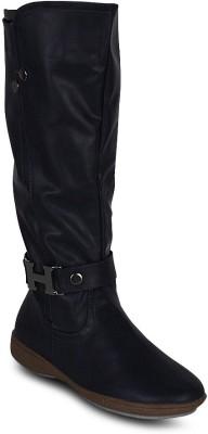 Kielz Ladies Brown Suede & Nappa Stylish Boots