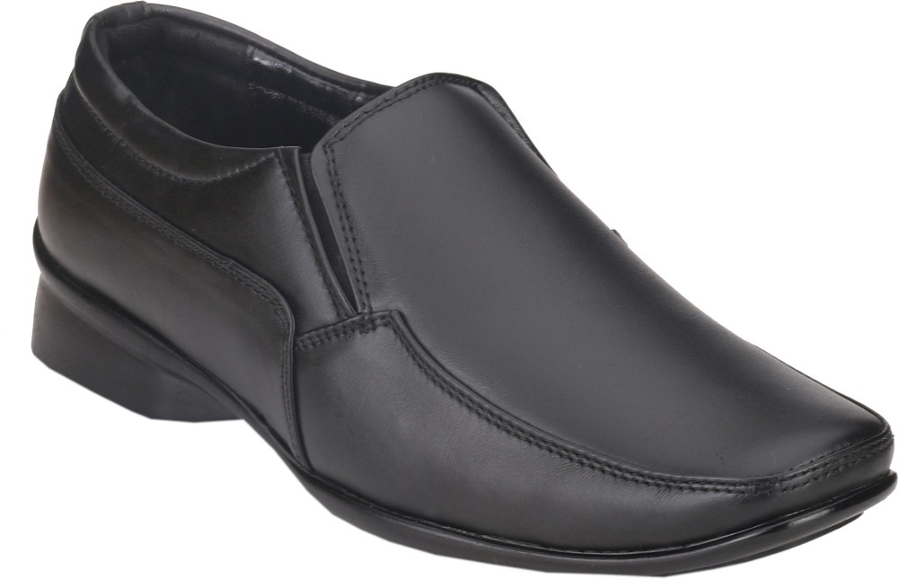 Real Blue Slip On Shoes