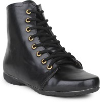 Do Bhai Ankle-Boot-Black Boots