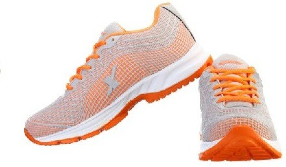 Sparx Running Shoes Grey Orange...