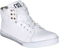 Emosis Romeo Sneakers, Casuals, Party Wear, Dancing Shoes White