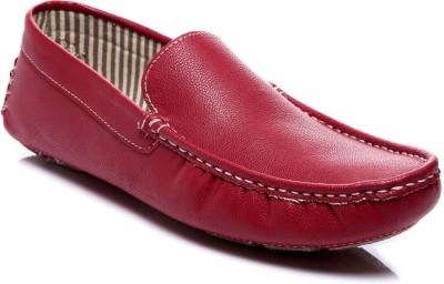 Juandavid 52-Red Loafers