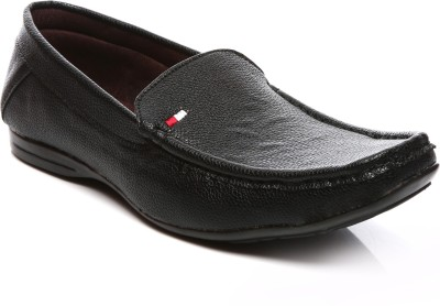 Goalgo Black Loafers