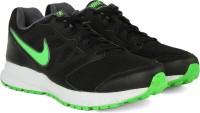 Nike DOWNSHIFTER 6 MSL Men Running Shoes Black, Green, White