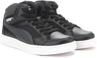 Puma Basket-Rebound V2 Hi Jr DP Casual Shoe Black